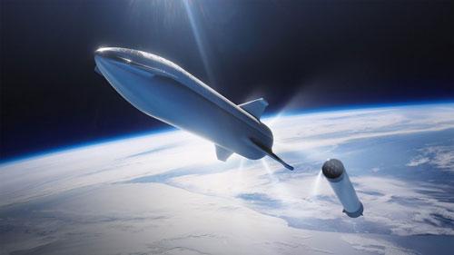 SpaceX Methane Rocket