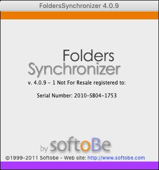 Folder Synchroniser X